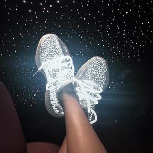 Top qualité Enfants Hot Sale Designer Chaussures de course pour enfants Entraîneur enfant en bas âge noir réfléchissant Chaussures de sport Noir Blanc Soft Sports Chaussures Taille 28-35