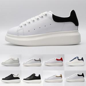 Alexander Nouvelle arrivée de mode de luxe noir rouge blanc Designer Chaussures Femme Or Low Cut marque cuir designers plat femmes d'hommes occasionnels chaussures de sport 36-44