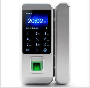 Office Glass Door Fingerprint Password Lock Apertura libera e doppia porta Appartamento per la casa
