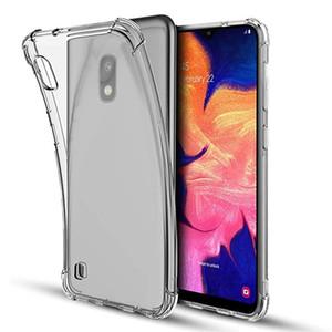 Effacer antichocs souple Téléphone couverture de cas pour Samsung Galaxy M10 M20 M30 A10 A20 A30 A40 A50 A70 A6 A8 S10 note10 plus