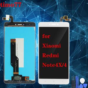 سوبر الجودة lcd ل xiaomi hongmi redmi ملاحظة 4x / 4 شاشة lcd شاشة تعمل باللمس دون استبدال الجمعية الإطار 100٪ اختبار التسليم السريع
