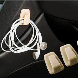 1PC Automotive Convenient Hook Car Bag Hook Holder Black ABS Universal Car Holder