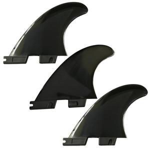 3 pcs / ensemble Tri G5 planche de surf FCS II ailettes pour FCS 2 ailettes boîte SUP Surf Fin 1 Center + 2 Côté 2 couleurs