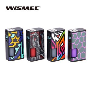 WISMEC Luxotic Surface 80W TC Squonk MOD für WISMEC Luxotic Surface 80W Squonk TC Kit Avatar Chip Box Mod Original Vape E-Cig
