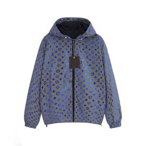 5D yansıması Erkekler Kadınlar Tasarımcılar Ceket Coat Lüks Kazak Hoodie Uzun Kollu Sonbahar Spor Fermuar Marka WINDBREAKER Erkek Giyim M-3XL