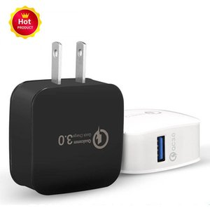 Fast QC3. 0 USB Wall Charger US Mobile Phone Charger Quick Adapter Wall Travel Charger для Samsung S10 s7 s8 для iPhone 11 x 7 plus pc
