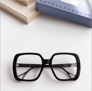 New eyeglasses frame women men eyeglass frames brand eyeglasses frame clear lens glasses frame oculos 0611 with case