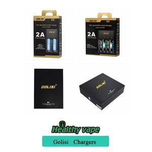 100% original GOLISI O2 O4 S2 S4 Ladegerät Digicharger O4 intelligente Ladegerät für Ni-MH / Ni-Cd // 18650/26650 2A Schnellladung