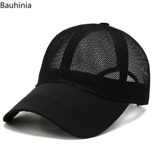 Men Baseball Cap Men Casquette Femme Ponytail Baseball Cap Summer Hat Women Sun Sport Mesh Hat Snapback Hip Hop