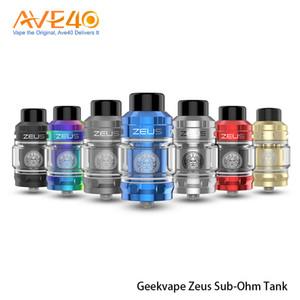 Original Geekvape Zeus Subohm Tank 5ml Vape Capacity con Geekvape Mesh Z1 Coils encaja con Geekvape Legend mod