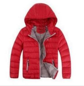 Kinderoberbekleidung Jungen und Mädchen-Winter-Mantel mit Kapuze Kinder Baumwolle gefütterte Daunenjacke Kinder Jacken 3-12 Jahre