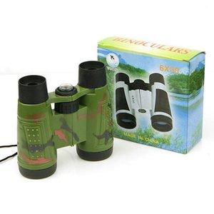 Telescopi Binocolo Bussola Giocattoli per bambini Regali forma Vivid Verde brillante Bambini Giocattolo colori Camouflage Educational Casual