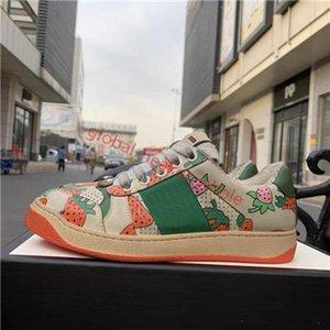 NIKE 270 shoes Beste Qualität New Screener Schmutzige Designer Schuhe Luxus Echtes Leder hococal Designer Sneaker Man ACE gestickten Erdbeere Freizeitschuhe