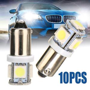 10 ADET / Lot T11 T4W BA9S LED Ampuller 5050 5-SMD Beyaz Araba ışık kaynağı H6W 12V LED Otomatik Lamba Yüksek Kalite