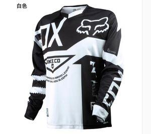 2020 FOX caliente-venta de ropa de verano cuesta abajo fuera de la carretera traje de carreras de bicicleta de montaña de manga larga de secado rápido en bicicleta de la motocicleta de los hombres de la chaqueta