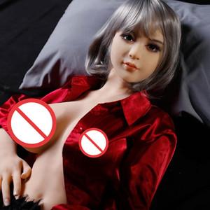 Geschlechtspuppen Puppen Ganzkörper-aufblasbare halbfeste Silikon-Puppe neues Spielzeug Sex Erwachsenen für Mann
