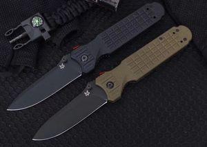 Нового качество дизайна высоких Fox 446 Открытого Складной нож D2 лезвия нейлон стекловолокна обрабатывать bm940 ZT микро тактического кемпинг карманного ножа выживания