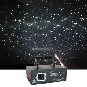 Etapa de la boda Sharelife mini 2W del cielo nocturno de estrellas blanco Universo Proyector láser DMX DJ de la iluminación casera efecto de la nieve de Navidad