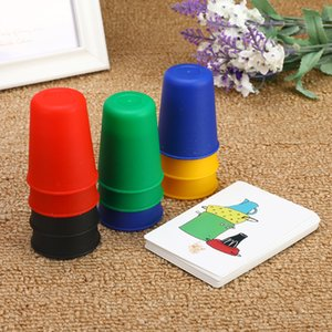 Funny Classic Card Games Speed Cups and Cards Family And Children Board Games Indoor Games