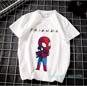 Mens Designer t shirts Friends Summer Harajuku Neutral Short-sleeved t shirt Friends Printed Street Wind T-shirt d06