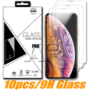 Screen Protector For Iphone 11 Pro XR X XS Max Huawei P20 Pro Google Pixel 4 LG Tempered Glass With Package