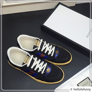 Fashion Man Casual Shoes Sneaker Genuine Leather Mesh pointed toe Race Runner Shoes Outdoors Trainers With Box US38-45 f33