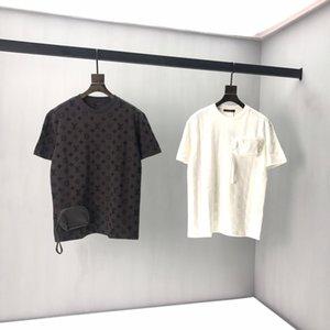 SS20 neues klassisch gedruckte Kurzarm T-Shirt mit einem guten Oberkörper Wirkung für Männer und Frauen 2233