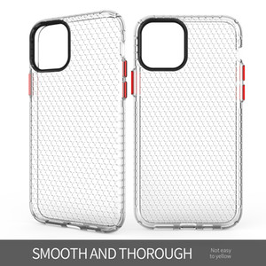Чехол для телефона для iphone 11 Pro тонкий и мягкий TPU Honeycomb Space All-inclusive Bumper Protection Case Cover