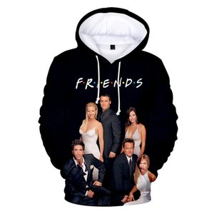FRIENDS 3D Printed Hoodies women Men TV Show I'll Be There for You Hoodie Sweatshirt Fashion Fleece Warm Jacket Coat 4XL Clothes