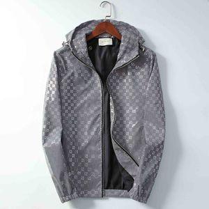 Париж Европа новый высокое качество мужская куртка Medusa классические мужчины и женщины тонкий ветровка светоотражающие роскошные капюшоном флуоресцентный ветер