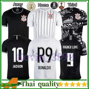 Corinthians maglia da calcio Jadson Ronaldo R9 Pedrinho Vagner Love Man In casa Fuori terzo Jersey 19 tuta 20 Thailandia calcio