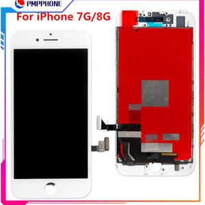 La mejor alta calidad para iPhone 7G 8G Pantalla LCD Pantalla táctil digitalizador Asamblea Reemplazo Reparación Piezas Negro Blanco envío gratis