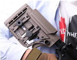 Tacticak Airsoft Luth MBA-3 Buttstock BD556 나일론 AR15 M4 스나이퍼 사냥 Buttstock 어린이 총 장난감