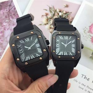 commercio all'ingrosso degli uomini delle donne orologi di lusso top brand orologio casual orologio al quarzo vestito numeri romani da polso per le signore degli uomini orologio relojes