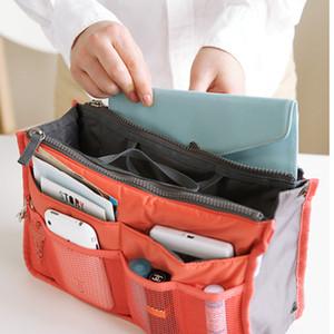 متعددة الوظائف حقيبة التخزين سستة المنظم عربات التي تجرها الدواب الحقيبة أزياء المرأة السفر أكياس ماكياج ماكياج التجميل والرمل