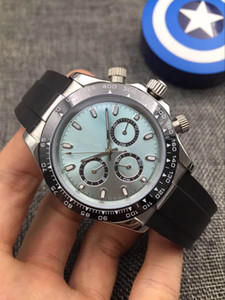 Erkek otomatik mekanik saat, 40mm çok fonksiyonlu saat, seramik halka ağız, süper parlak 2813 hareketi, 316 ince çelik spor izle