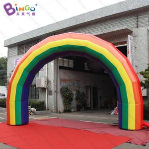 Arco gonfiabile del PVC del PVC di 6X4m / arco gonfiabile su ordinazione / arco gonfiato arcobaleno del partito - libri
