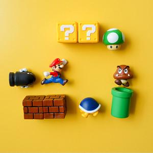 tas aimants pour réfrigérateur 3D Super Mario Bros. Aimants Réfrigérateur message autocollants drôles filles garçons enfants Jouets Étudiant Bi ...