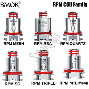 Smok RPM Bobin RPM Mesh 0.4ohm DC 0.8ohm Bobin İçin RPM40 / RPM LITE / Nord 2 / Getirme Pro / RPM80 Pod Seti Orjinal