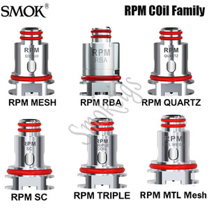 Smok RPM bobine RPM Mesh 0.4ohm DC 0.8ohm bobine pour RPM40 / RPM Lite / Nord 2 / Fetch Pro / RPM80 Pod Original Kit