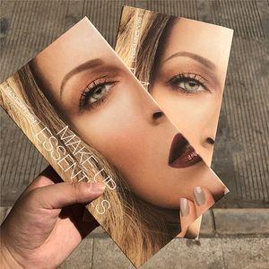 Новое прибытие Рождество макияж двойной цвет Пудра Highlighters Shading Powder Face Nose Shading палитра Макияж Контур