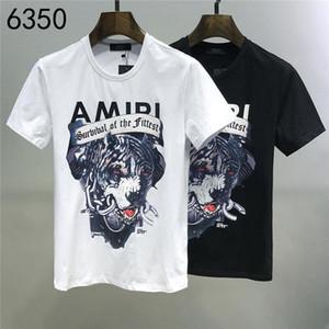 2020Designer Estate 19AMIRI nuovo arrivo superiore di lusso T delle donne degli uomini dei vestiti della stampa T-shirt M-3XL 6350