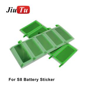 JiuTu Bateria Tampa Traseira Etiqueta para Samsung Galaxy S7 borda G935 / S8 / S8 além de Tela LCD Voltar Fita Adesiva Recondicionamento