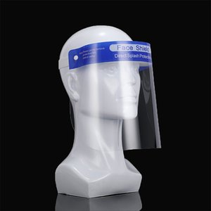 DHL Free Shipping full face shields mask Double-sided Anti-fog Face Shield Isolation Protective Mask Kids Adults Face Eye Mouth Protector