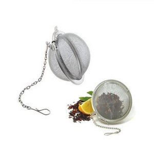 Stainless Steel Tea Pot Infuser Sphere Locking Spice Tea Ball Strainer Mesh Infuser tea strainer Filter infusor Free Shipping