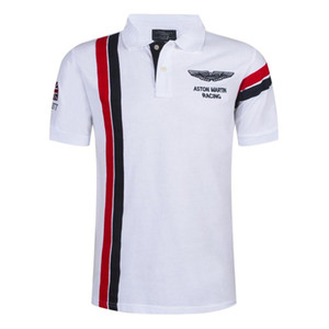 Sale Fashion Casual Brand Mens Summer Cotton Short Sleeve Golf Army Air Force One Polo Tee Shirt Men High Quality Trendy Stylish Clothing