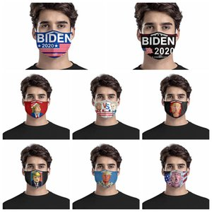 Donald Trump 2020 Maks Biden VS Trump America Élection présidentielle Masque Designer adulte Mode Masques anti-poussière visage de la RRA3199