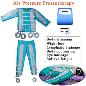 Fußpressotherapie Körperdrucktherapie Fernes Infrarot-Körper Abnehmen Maschine Lymphdrainage Massage Stiefel Pressotherapie Muskeln Massage