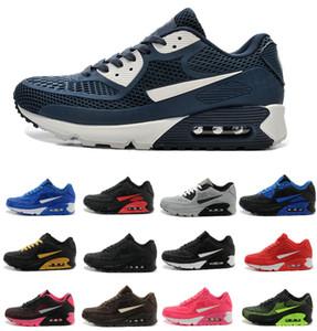 2019 Yeni Hava Yastık 90 kpu Erkekler Kadınlar Spor Ayakkabı Yüksek Kalite Klasik Sneakers Ucuz air90 Eğitmenler Tn Koşu Ayakkabısı Gerçek Spor Be