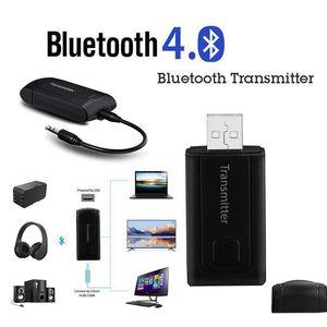 Bluetooth V4. 0 Transmissor Sem Fios A2DP Adaptador De Áudio Estéreo de 3, 5 mm para o audio phone DE TV PC MP3 MP4